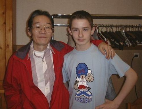 avec Isato Nakagawa - Bailleul - 03.04.2005