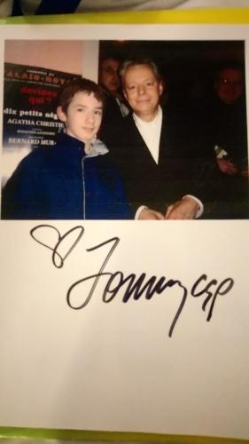 photo du 27.02.2005 signée par Tommy Emmanuel à Sausheim le 16.11.2018