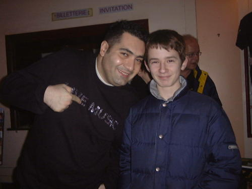 Avec François Sciortino – Douai - 27.02.2005