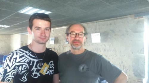 avec Franck Cheval - Astaffort 04.07.2015