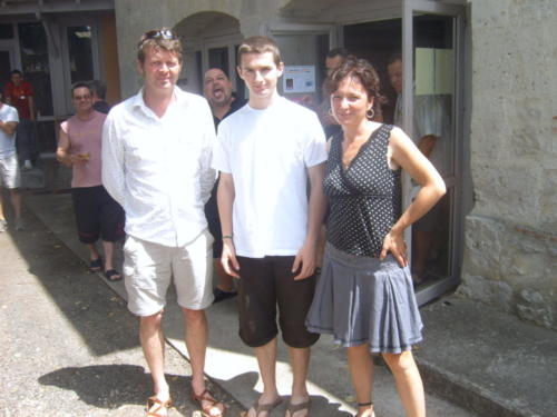 avec Marionel - Astaffort 03.07.2011