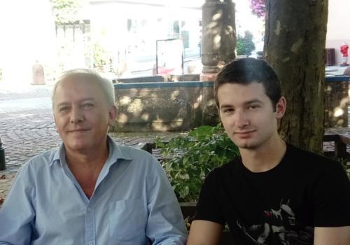 avec Michel Haumont - Masevaux - 28.08.2016