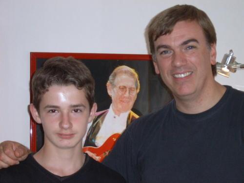 avec Pierre Thouvenot - Dunkerque - 09.09.2005
