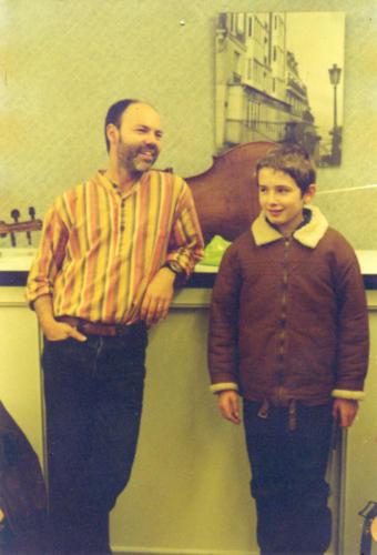 avec Bruno Mursic - Boulogne-sur-Mer - 02.10.2003