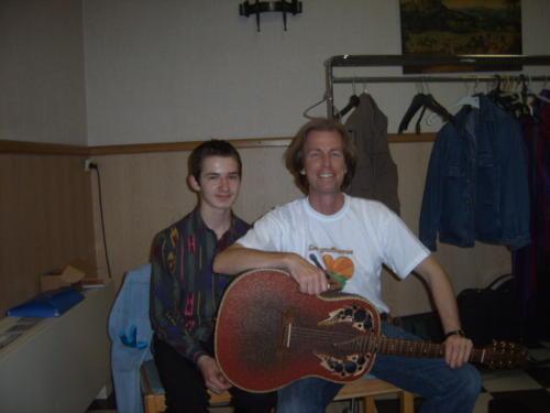 avec Eltjo Haselhoff - Bailleul - 28.04.2007